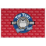 School Mascot Laminated Placemat w/ Name or Text