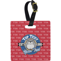 School Mascot Luggage Tags (Personalized)