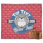 School Mascot Outdoor Picnic Blanket (Personalized)