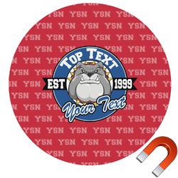 School Mascot Car Magnet (Personalized)