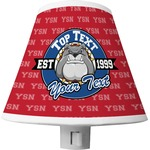 School Mascot Shade Night Light (Personalized)