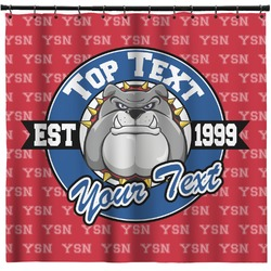 School Mascot Shower Curtain (Personalized)