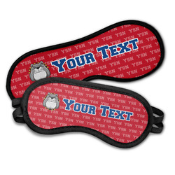 School Mascot Sleeping Eye Masks (Personalized)