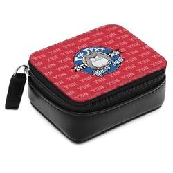 School Mascot Small Leatherette Travel Pill Case (Personalized)