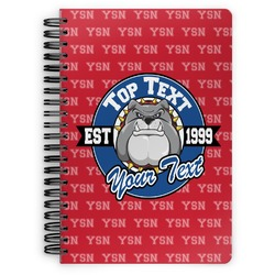 School Mascot Spiral Bound Notebook (Personalized)