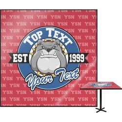 "School Mascot Square Table Top - 24"" (Personalized)"