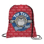 School Mascot Drawstring Backpack (Personalized)