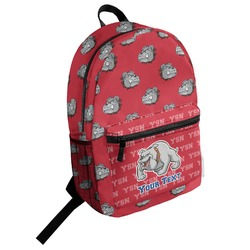 School Mascot Student Backpack (Personalized)