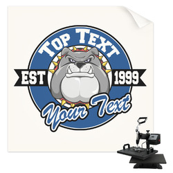School Mascot Sublimation Transfer (Personalized)