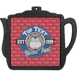 School Mascot Teapot Trivet (Personalized)