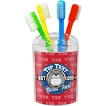 School Mascot Toothbrush Holder (Personalized)