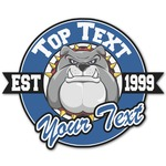 School Mascot Graphic Decal - Custom Sized (Personalized)
