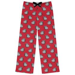 School Mascot Womens Pajama Pants (Personalized)
