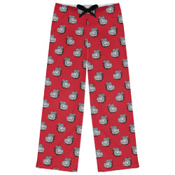 School Mascot Womens Pajama Pants (Personalized)