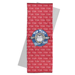 School Mascot Yoga Mat Towel (Personalized)