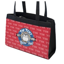 School Mascot Zippered Everyday Tote (Personalized)