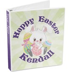 Easter Bunny 3-Ring Binder (Personalized)