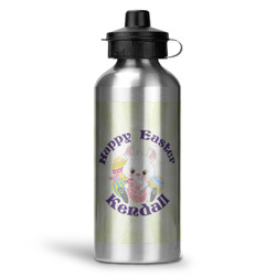 Easter Bunny Water Bottle - Aluminum - 20 oz (Personalized)