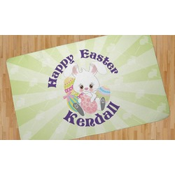 Easter Bunny Area Rug (Personalized)