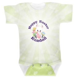 Easter Bunny Baby Bodysuit (Personalized)