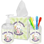 Easter Bunny Bathroom Accessories Set (Personalized)
