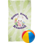 Easter Bunny Beach Towel (Personalized)