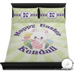 Easter Bunny Duvet Cover Set (Personalized)