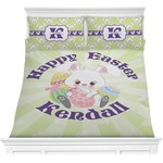Easter Bunny Comforter Set (Personalized)