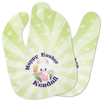 Easter Bunny Baby Bib w/ Name or Text