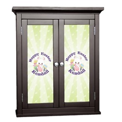 Easter Bunny Cabinet Decal - Custom Size (Personalized)