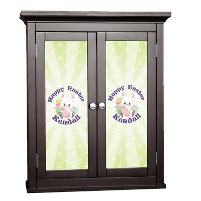 Easter Bunny Cabinet Decal - Medium (Personalized)