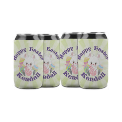 Easter Bunny Can Sleeve (12 oz) (Personalized)