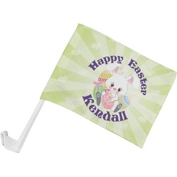 Easter Bunny Car Flag (Personalized)