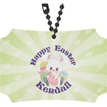 Easter Bunny Rear View Mirror Ornament (Personalized)