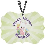 Easter Bunny Rear View Mirror Charm (Personalized)