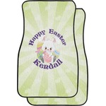 Easter Bunny Car Floor Mats (Front Seat) (Personalized)