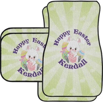 Easter Bunny Car Floor Mats (Personalized)