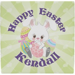 Easter Bunny Ceramic Tile Hot Pad (Personalized)