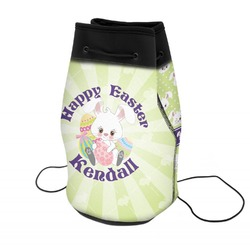 Easter Bunny Neoprene Drawstring Backpack (Personalized)