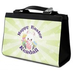 Easter Bunny Classic Tote Purse w/ Leather Trim (Personalized)