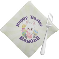 Easter Bunny Cloth Napkins (Set of 4) (Personalized)