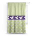 Easter Bunny Curtain (Personalized)
