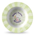 Easter Bunny Plastic Bowl - Microwave Safe - Composite Polymer (Personalized)
