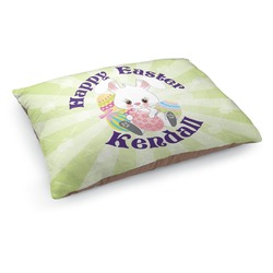 Easter Bunny Dog Bed (Personalized)