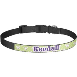 Easter Bunny Dog Collar - Large (Personalized)