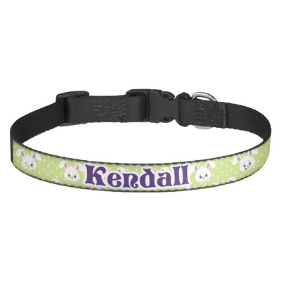 Easter Bunny Dog Collar (Personalized)