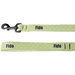 Easter Bunny Deluxe Dog Leash - 4 ft (Personalized)