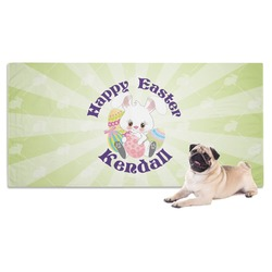 Easter Bunny Pet Towel (Personalized)