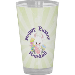 Easter Bunny Drinking / Pint Glass (Personalized)