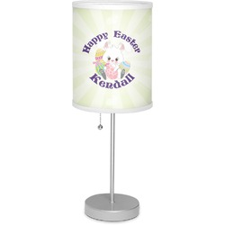"""Easter Bunny 7"""" Drum Lamp with Shade (Personalized)"""